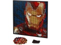 LEGO Art 31199 Iron Man z Marvel Studios
