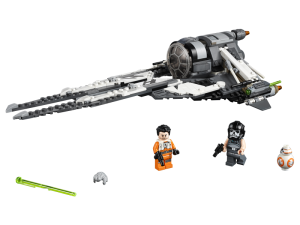 LEGO Star Wars 75242  TIE Interceptor Czarny As