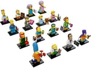 LEGO The Simpsons 71009  Minifigurki - Minifigures Seria 2