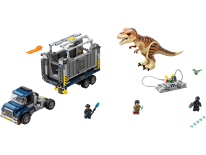 LEGO Jurassic World 75933  Transport tyranozaura