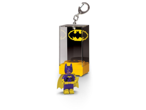 LEGO Batman Movie KE129  Brelok latarka LED Batgirl w gablotce