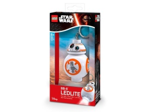 Brelok latarka LEGO Star Wars KE101  LED BB-8