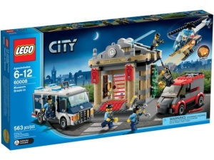 LEGO City 60008  Włamanie do muzeum