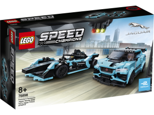 LEGO Speed Champions 76898  Formula E Panasonic Jaguar Racing GEN2 car i Jaguar I-PACE eTROPHY