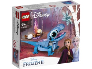 LEGO Disney Princess 43186  Salamandra Bruni do zbudowania