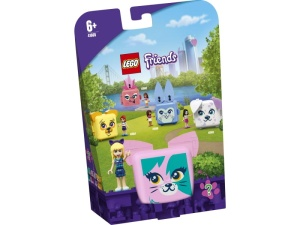 LEGO Friends 41665  Kostka Stephanie z kotem