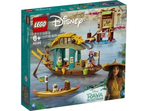 LEGO Disney Princess 43185  Łódź Bouna