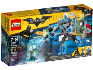 LEGO Batman Movie 70901  Lodowy atak Mr. Freeze'a
