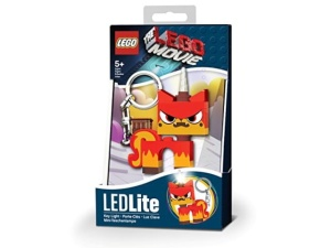 Brelok latarka LEGO Movie LGL-KE45a  LED Zła Kicia Rożek
