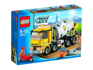 LEGO CITY 60018  Betoniarka