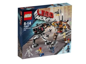 LEGO MOVIE 70807  Pojedynek Metal Bearda