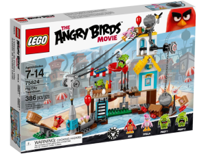 LEGO Angry Birds 75824  Demolka w Pig City