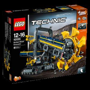 Lego Technic Koparka Górnicza Kołowa Zestaw 42055