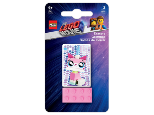 LEGO Calssic 52323  Zestaw gumek LEGO MOVIE 2 - Unikitty