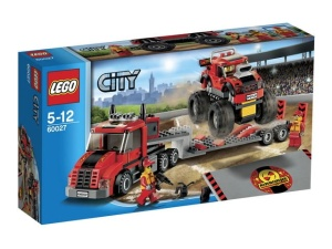 LEGO CITY 60027  Transporter Monster Trucków