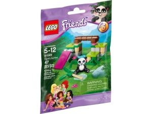 LEGO Friends 41049  Panda i bambus