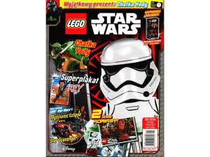 LEGO Star Wars 406856  magazyn 9/2016 + chatka Yody