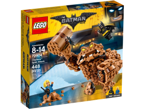LEGO Batman Movie 70904  Atak Clayfacea