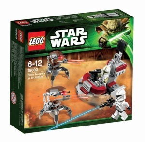 LEGO STAR WARS 75000  Troopers vs Droidekas