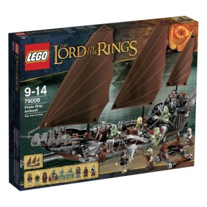 LEGO LORD OF THE RINGS 79008  Zasadzka na statku pirackim