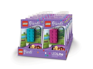 Brelok latarka LEGO Friends LGL-KE5F  LED Key Light Klocek Lego 2x4