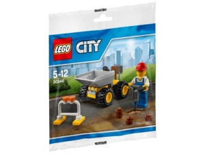 LEGO City Polybag 30348  Mini wywrotka