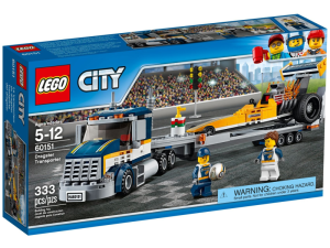 LEGO City 60151  Transporter dragsterów