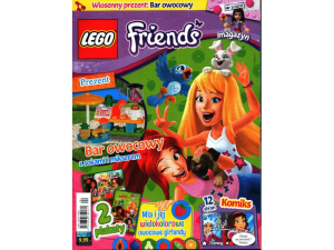 LEGO Friends 407194  magazyn nr 3/2017 + Bar owocowy