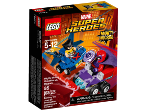 LEGO Super Heroes 76073  Mighty Micros: Wolverine kontra Magneto