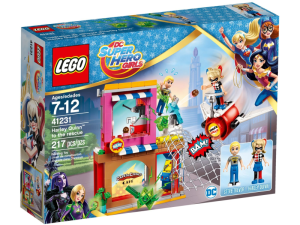LEGO DC Super Hero Girls 41231  Harley Quinn na ratunek