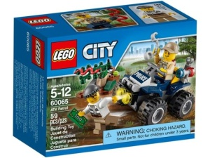 LEGO City 60065  Patrolowy quad