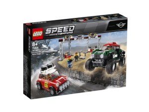 LEGO Speed Champions 75894  1967 Mini Cooper S Rally oraz 2018 MINI John Cooper Works Buggy