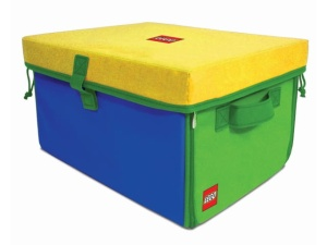 LEGO A1772XX  ZipBin 1000 Brick Toy Box