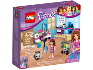 LEGO Friends 41307  Kreatywne laboratorium Olivii