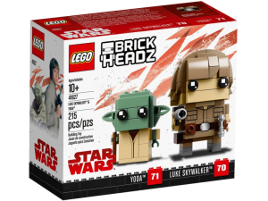 LEGO BrickHeadz 41627  Luke Skywalker i Yoda