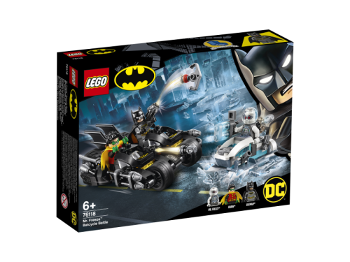 LEGO 76118 Walka z Mr. Freeze'em