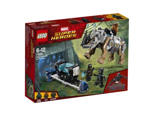 LEGO Super Heroes 76099  Black Panther Face-off