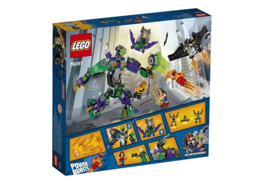 LEGO Super Heroes 76097  Lex Luthor™ Mech Takedown