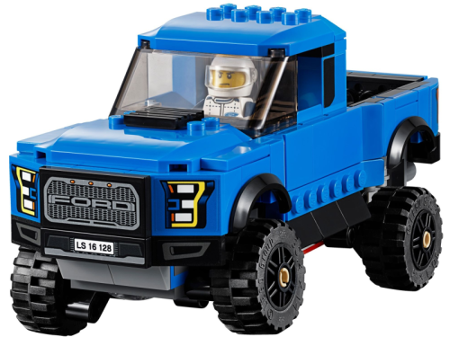 LEGO Speed Champions 75875 Ford F-150 Raptor i Ford Model A Hot Rod