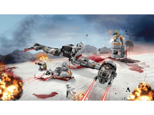 LEGO Star Wars 75202  Carver with white planet trench