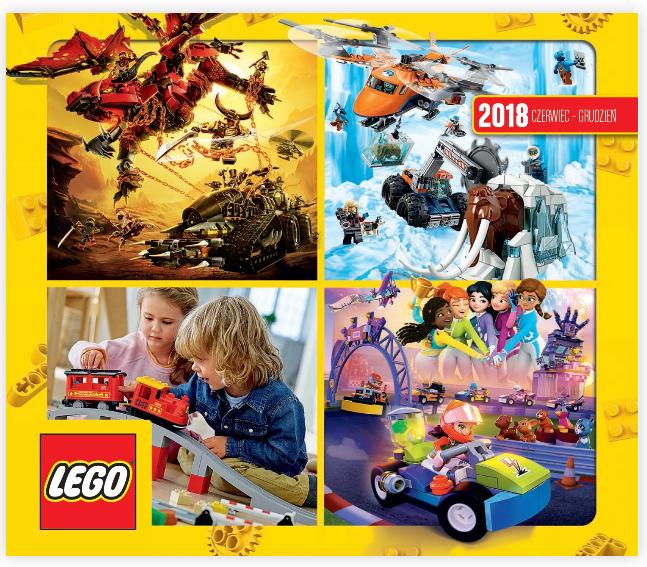 Katalog Lego Lipiec Grudzień 2018 Planeta Klocków Sklep Z