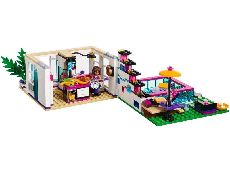 Lego friends 41135 dom gwiazdy pop livi sklep - Lego friends casa de livi ...
