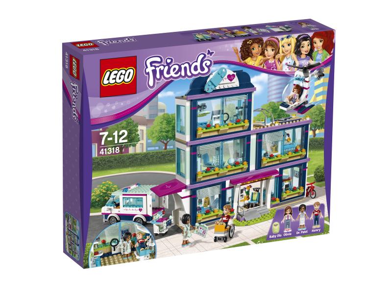 Lego Friends Szpital W Heartlake 41318 Dobra Cena Planetaklockowpl