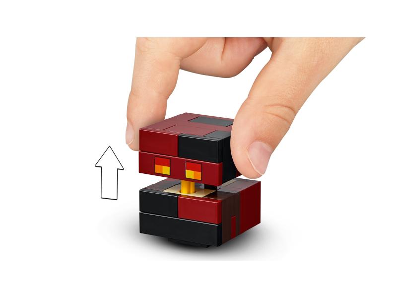 6c7070892 LEGO Minecraft 21150 BigFig - szkielet z kostką magmy | sklep ...