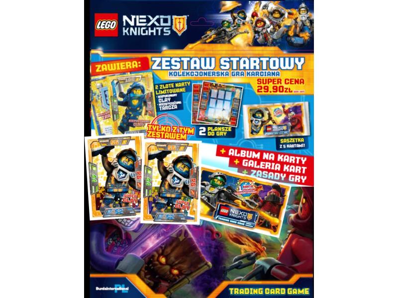 Lego Nexo Knights 510785 Tcg Zestaw Startowy Gra Karciana Sklep