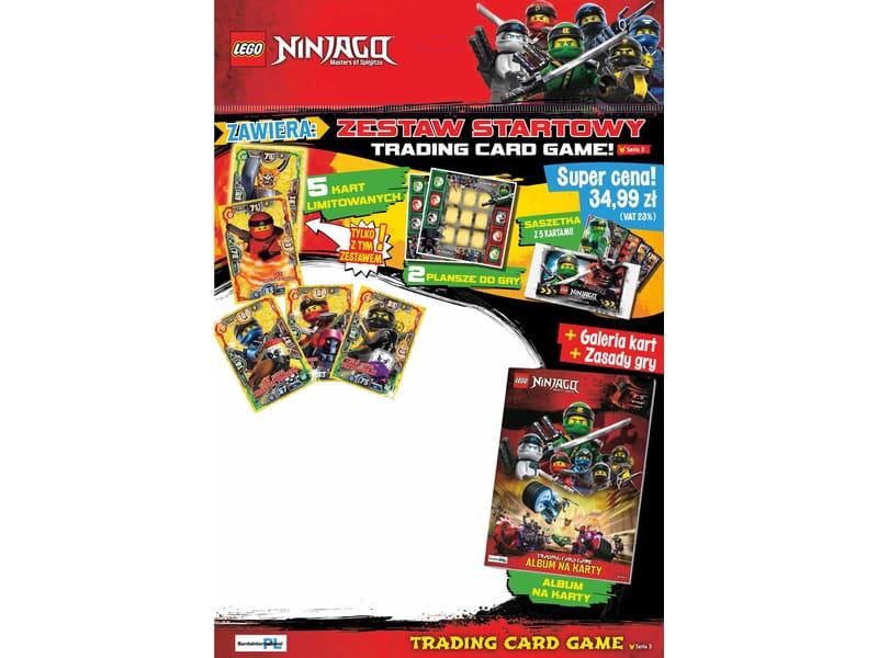Lego Ninjago 522325 Zestaw Startowy Gra Karciana 3 Seria Sklep