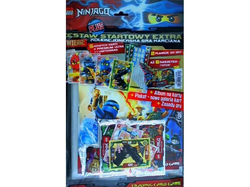 W Mega LEGO Ninjago 509981 Zestaw startowy extra Gra Karciana | sklep CI32