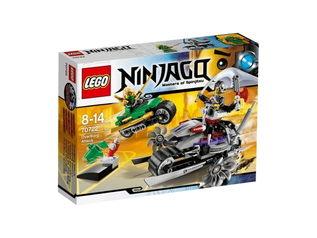 Lego Ninjago 70722 Atak Overborga Sklep Internetowy Planetaklockowpl