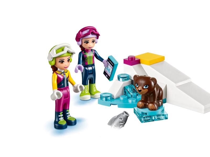 Lego Friends 41324 Wyciąg Narciarski W Zimowym Kurorcie