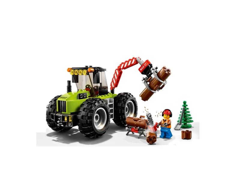 Lego City 60181 Traktor Leśny Sklep Internetowy Planetaklockowpl